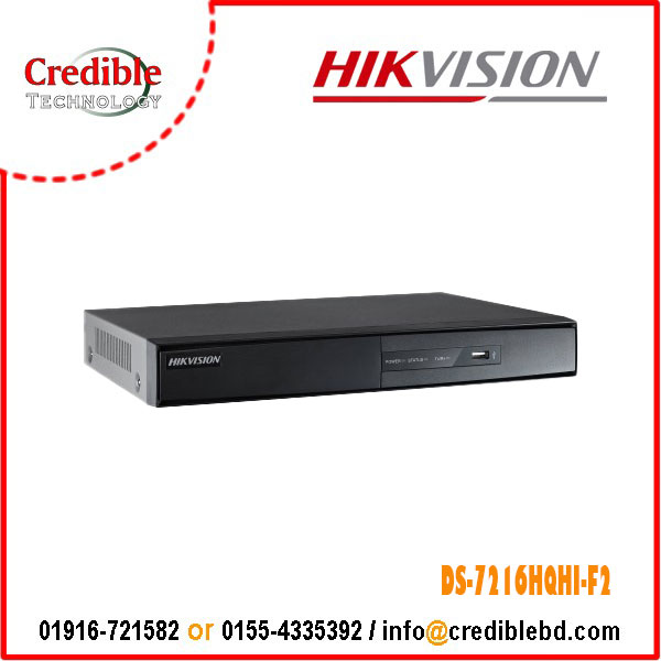 HIKVISION DS-7216HQHI-F2