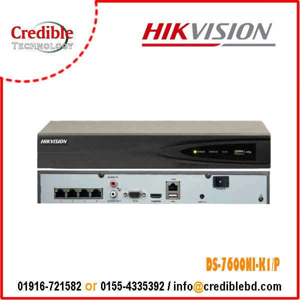 Hikvision DS-7600NI-K1/P