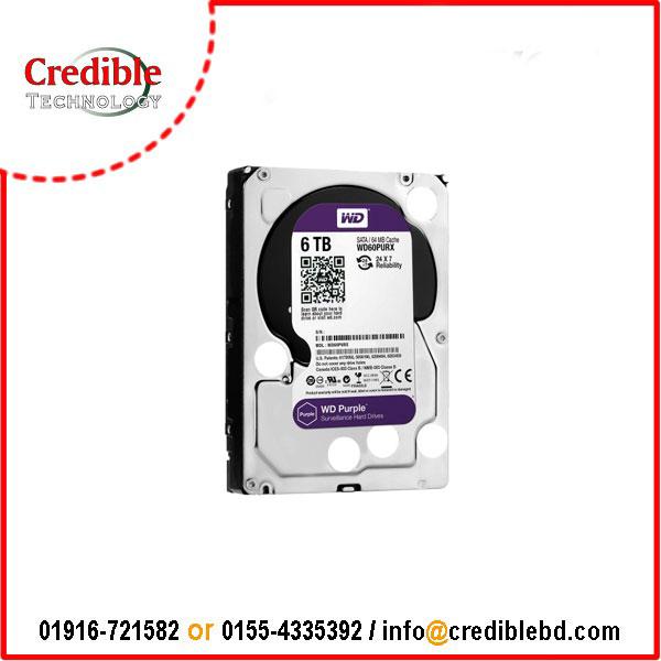 "Western Digital 6TB 3.5"" Purple"